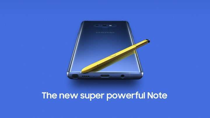 Samsung Galaxy Note 9 Verizon