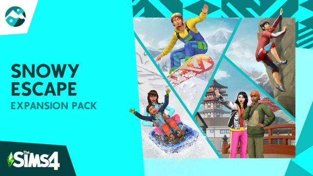 snowy escape expansion pack