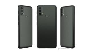 Motorola Moto E40 render