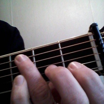 Light As A Finger: fret hand control and balance.