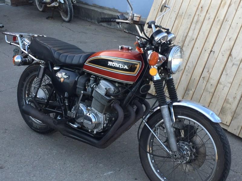Sold: 1975 Honda CB750