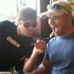 Hank with Craig Moritz