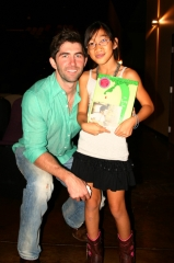 Paul Sikes and 9 year old philanthropist, Jessica Carscadden