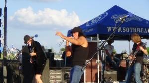 Back in Back at The Gun Barrel City July Fest.