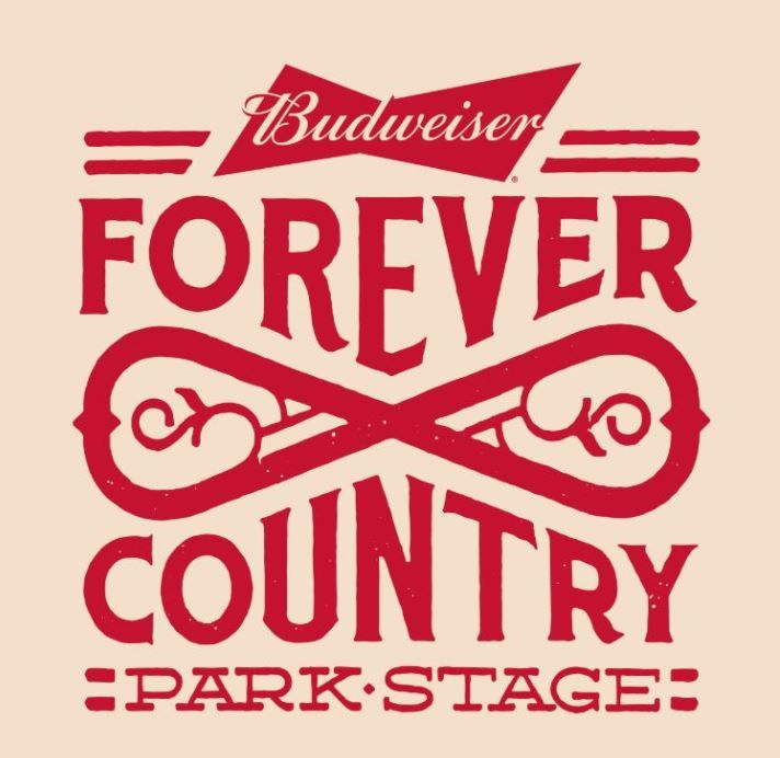 Budweiser Forever Country Park Stage logo