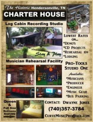 Charter House Studio photo courtesy of DWayne Jones