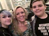 Lori, Hannah, and Joshua