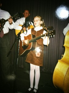 Laura as Child Performing