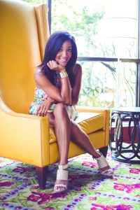 Mickey Guyton will perform on The Park Stage at Walk of Fame Park during the 2016 CMA Music Festival. Photo Credit: Catherine Powell
