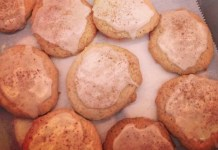 Taylor Swift Chai Tea Eggnog Cookies
