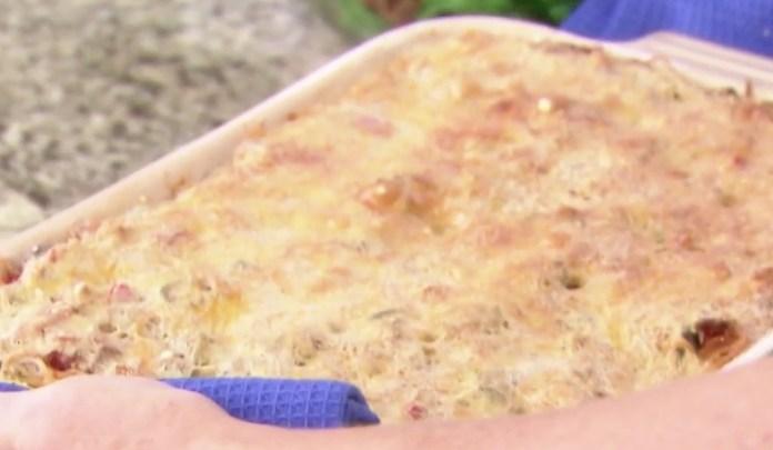 Trisha Yearwood Baked Spaghetti