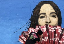 Kacey Musgraves mural Nashville