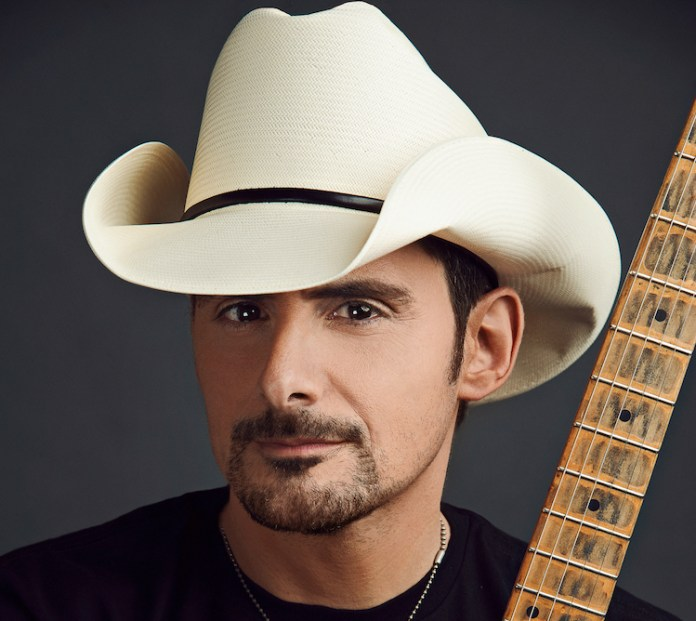 Brad Paisley free grocery store