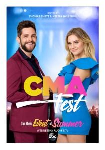 Thomas Rhett Kelsea Ballerini CMA Fest