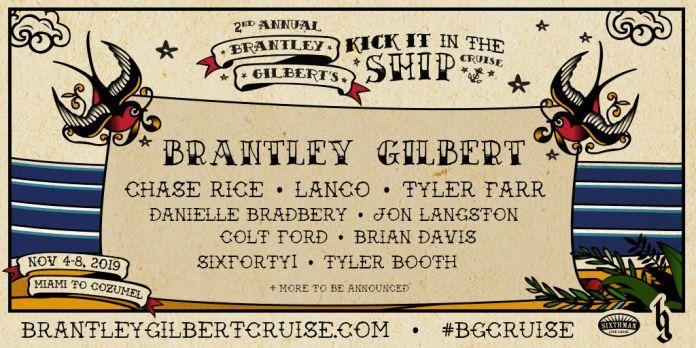 Brantley Gilbert Kick Ship Cruise