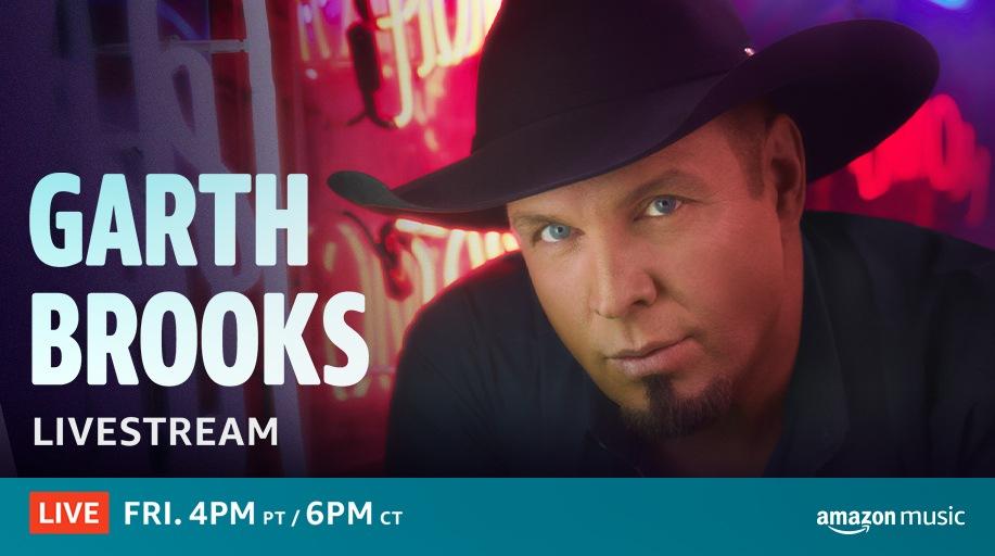 Garth Brooks Amazon Livestream