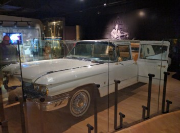 'Solid Gold' Cadillac at the Hall of Fame