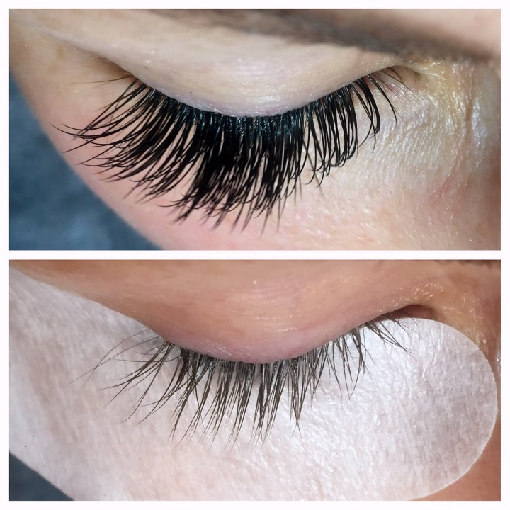 Lash Extension with Amy K Lashes in Nashville by popular style blogger Nashville Wifestyles
