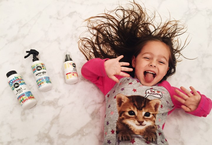 kiddo friendly hair care