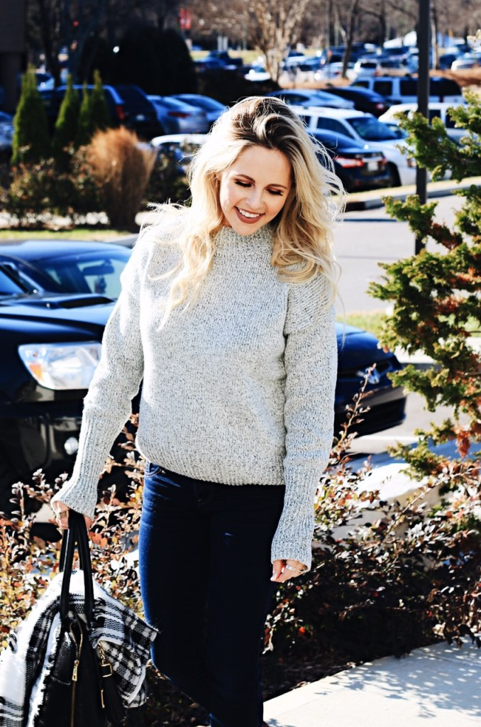 fall fashion. how to dress up a sweater or sweatshirt