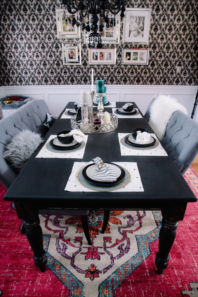 DINING ROOM TABLE MAKEOVER By Popular Nashville Lifestyle Blogger Wifestyles
