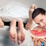 Диета для лучшего оргазма: Арбузная Виагра и абрикосы для чувствительного клитора