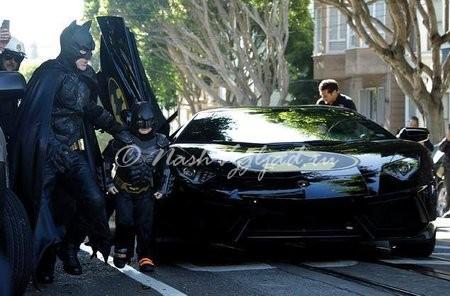 Бэткид с Бэтманом