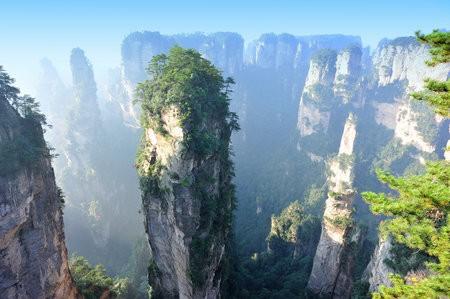 Горы Тяньцзи (Tianzi), Китай