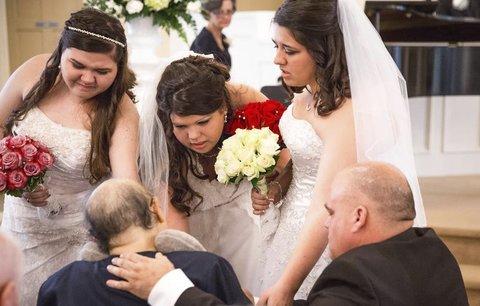Мать умерла спустя 12 часов после свадьбы трех своих дочерей