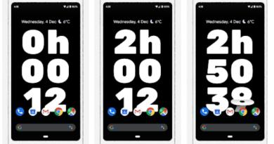 Screen Stopwatch (Ekran Kronometresi)
