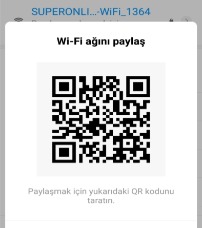 Wifi Karekod Okutma Nasıl Yapılır?
