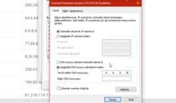 DNS Sunucuları ve IP Adresleri Nasıl Çalışır?