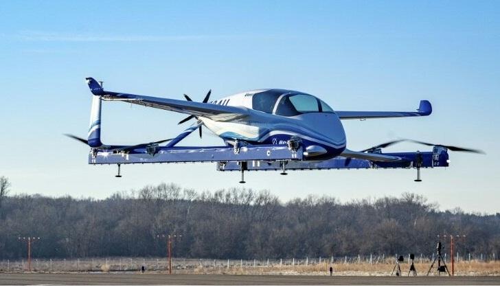 Boeing Deneme Uçuşunu Tamamladı.