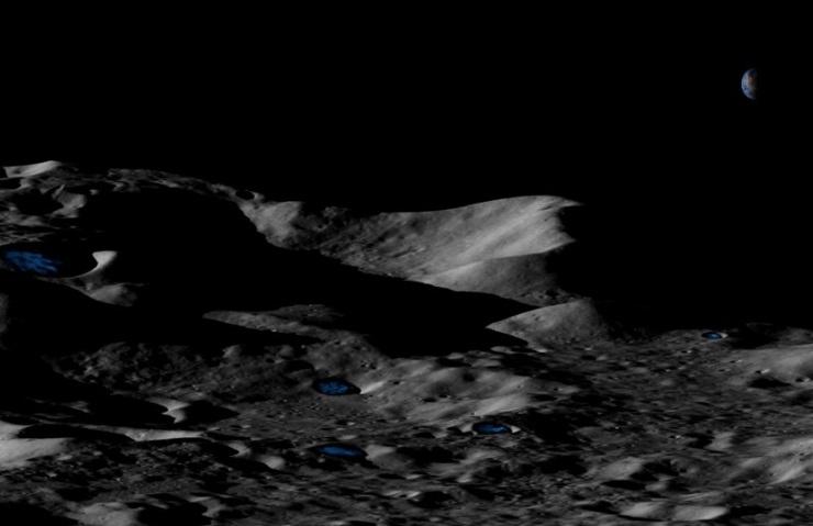 Ay ve Merkür'de Su Olabilir.