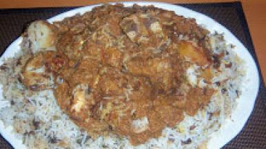 Persian biriyani
