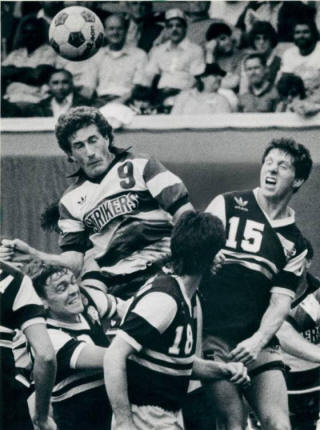 NASL Soccer Minnesota Strikers 84 Road Alan Willey, Sting Chris Kenny, Ricardo Alonso