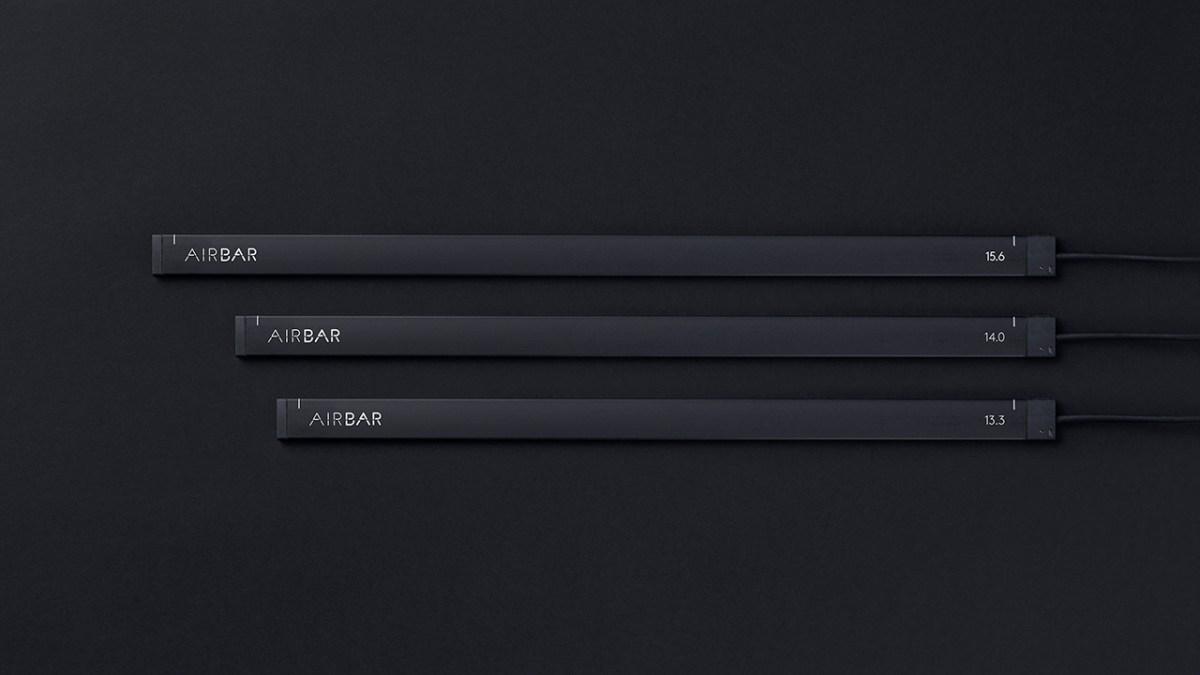 Recensione Airbar Neonode barra monitor touch