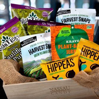 plant based snacks, Harvest snacks, breakroom snacks, employee snacks, workplace snacks, Vegan Rob's, employee snacks,