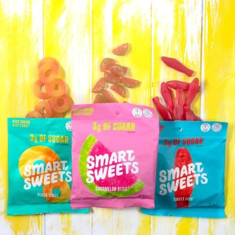 better for you snacks, low sugar snacks, summer snacks, summer candy, travel candy, tourist snacks, travel destination, SmartSweets Gummies,