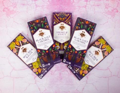 Voges Chocolate, women-owned business, gourmet chocolate, exotic chocolate, milk chocolate bacon, black salt, black salt caramel, smoke and stout