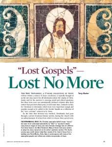 BAR SO16 Lost Gospels 1