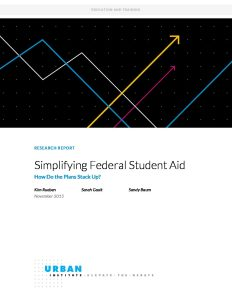 2000507 Simplifying Federal Student Aid How Do the Plans Stack Up pdf 1 232x300 - 2000507-Simplifying-Federal-Student-Aid-How-Do-the-Plans-Stack-Up