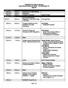 2009 Fall Conference Agenda pdf 1 - 2009-Fall-Conference-Agenda-pdf-1