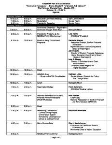 2010 Fall Conference Agenda pdf 1 - 2010-Fall-Conference-Agenda-pdf-1