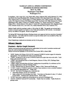 Approved Business Meeting Minutes Spring 2008 pdf 1 - Approved-Business-Meeting-Minutes-Spring-2008-pdf-1