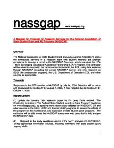 Draft NASSGAP LEAP Research RFP 6 8 06 pdf 1 232x300 - Draft-NASSGAP-LEAP-Research-RFP-6-8-06