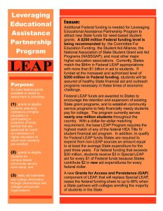LEAP Fact Sheet 2009 Color NASSGAP pdf 1 - LEAP-Fact-Sheet-2009-Color-NASSGAP-pdf-1