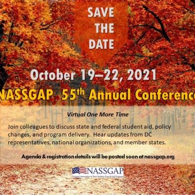 NASSGAP Conf jpg - 2021 Virtual NASSGAP Conference