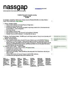 NASSGAP Exec Comm Conf Call 9 12 05 pdf 1 - NASSGAP-Exec-Comm-Conf-Call-9-12-05-pdf-1