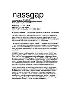 NASSGAP LEAP study press release Feb 07 1 pdf 1 232x300 - NASSGAP-LEAP-study-press-release-Feb-07-1